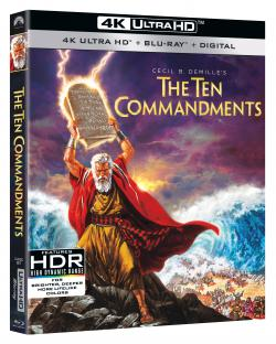 THE TEN COMMANDMENTS on 4K Ultra HD, Blu-ray, & Digital!