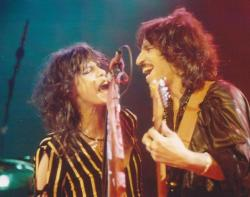 (l to r) Steven Tyler and Richie Supa.