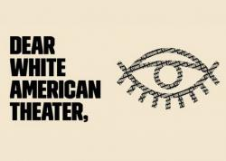 A screenshot from the We See You White American Theater website.