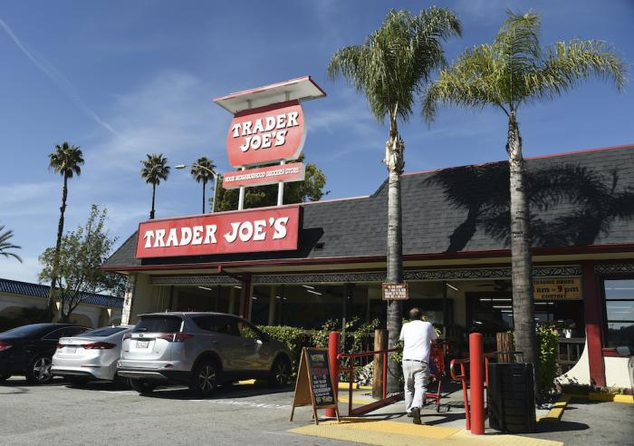 The original Trader Joe's grocery store in Pasadena, Calif.
