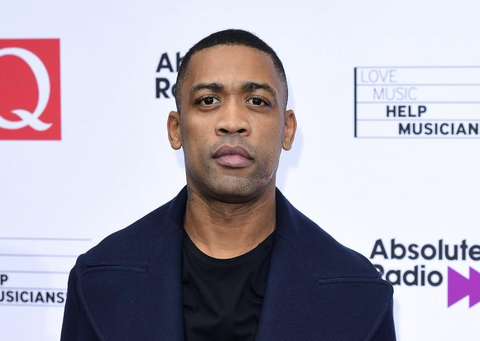 Grime music artist Wiley during an event in London.