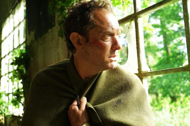 "Jude Law in a scene from ""The Third Day."""