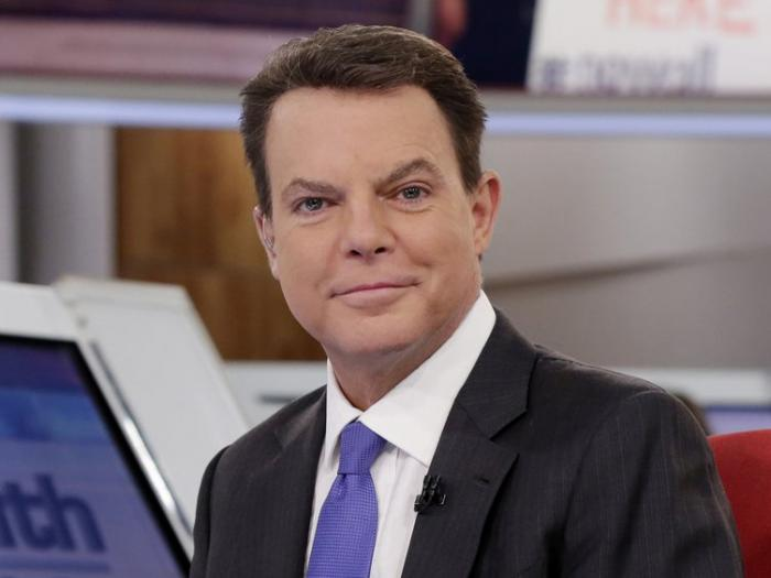 "Shepard Smith appears on The Fox News Deck before his ""Shepard Smith Reporting"" program on Jan. 30, 2017, in New York."