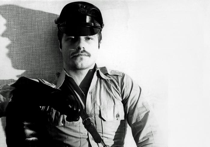 """""""Aarno,"""" 1976. Photo: Tom of Finland, courtesy of the Tom of Finland Foundation"""