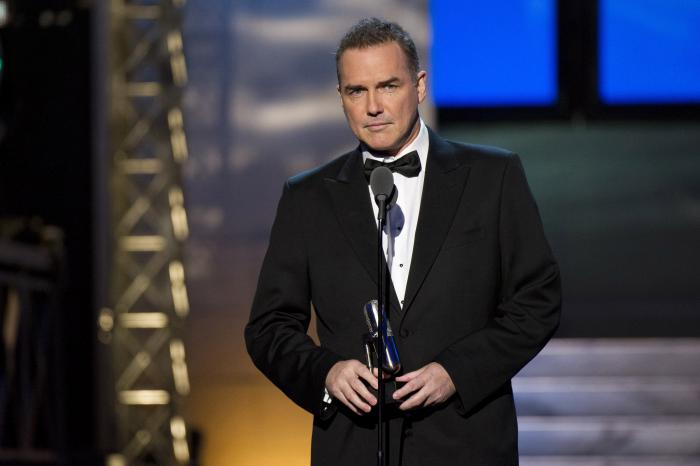 Comedian-actor Norm Macdonald appears onstage at The 2012 Comedy Awards in New York on April 28, 2012.