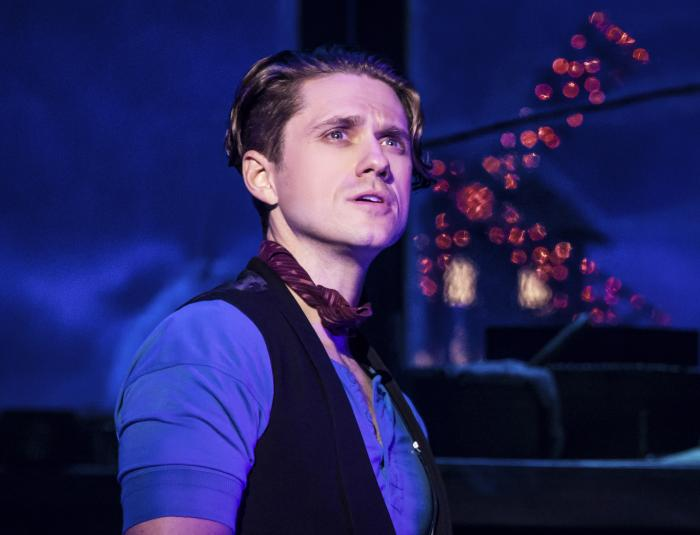 """Aaron Tveit in """"Moulin Rouge! The Musical."""""""