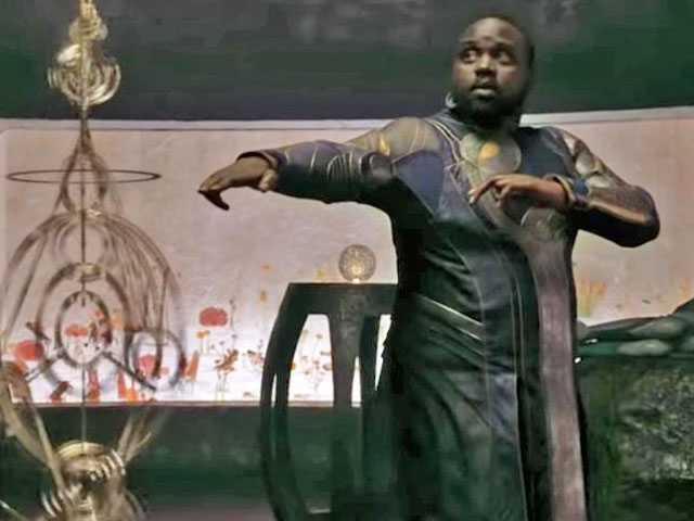 Brian Tyree Henry plays Phastos, an openly gay, and married, superhero, in 'Eternals'