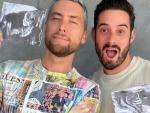 First Look: Lance Bass and Husband Welcome Twins Violet and Alexander